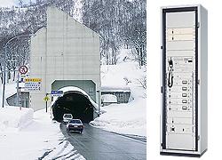 トンネル内ラジオ再放送装置